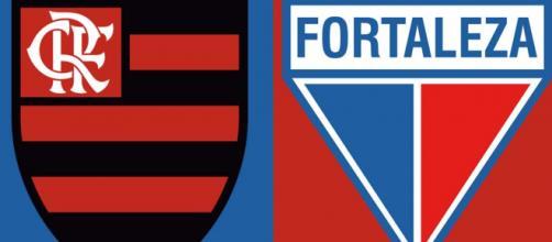Flamengo x Fortaleza será válido pela sexta rodada (Arte/Eduardo Gouvea)