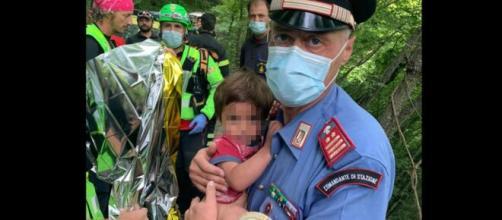 Il carabiniere che ha ritrovato il piccolo Nicola: 'È stato come la nascita di un figlio'.