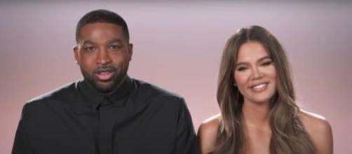 Khloé Kardashian and Tristan Thompson have reportedly broken up (Image source: E!/Screengrab)