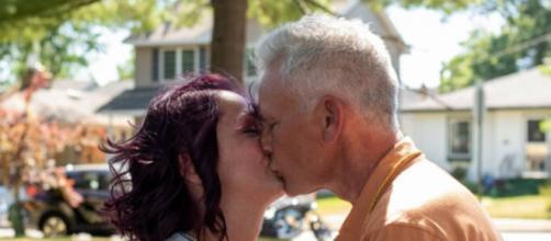 Lauri y Billy Deatherage se casaron tras reencontrarse luego de varios años (Fuente: Facebook de Lauri Anne)