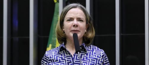 Presidente do PT informa que Lula fará viagens com intenção de formar frente contra Bolsonaro (Michel Jesus/Câmara dos Deputados)