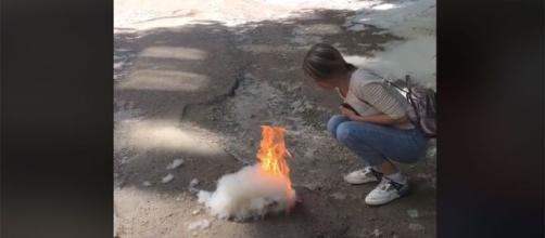 Un reto de Tik Tok provoca más de 250 incendios en Rusia (Imagen: Tik Tok)