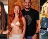Enquete UOL mostra disputa apertada no 'Power Couple Brasil 5' (Fotomontagem/Reprodução/Record TV)