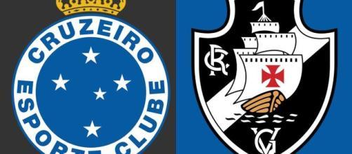 Cruzeiro e Vasco fazem um duelo inédito na Serie B (Arte/Eduardo Gouvea)