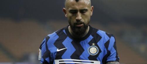 Inter, il centrocampista cileno Arturo Vidal.