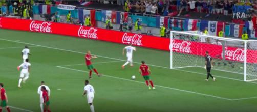 La colère de Pepe sur le but de Karim Benzema - Photo capture d'écran Twitter
