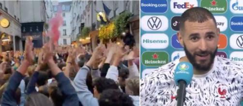 La France fan de Karim Benzema - Photo capture d'ecran Twitter