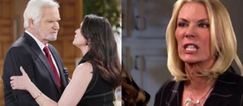 Beautiful, trame Usa: Eric scopre la tresca tra Quinn e Carter grazie al piano di Brooke.