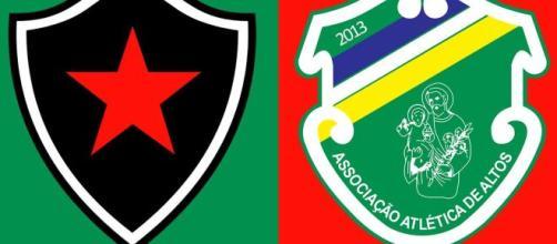 Botafogo x Altos abrem a quita rodada da Série C (Fotomontagem)