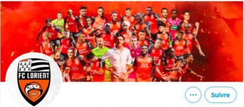 Le CM de Lorient chambre déjà les clubs de ligue 1 - Photo capture d'écran Twitter Lorient