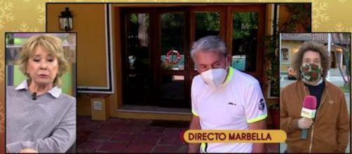 Manolo Santana podría no conocer la noticia del fallecimiento de Mila Ximénez. (Imagen: telecinco.es)