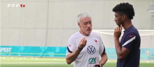 Didier Deschamps pourrait tout changer - Photo capture d'écran vidéo YouTube
