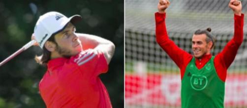 Gareth Bale qui fait du golf - Source : capture d'écran, Instagram