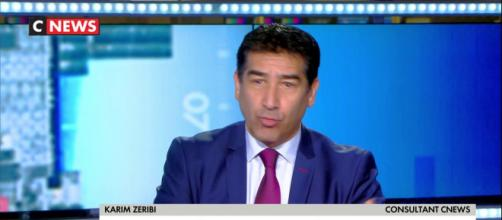 Karim Zeribi de TPMP chez CNEWS. Source capture d'écran CNEWS