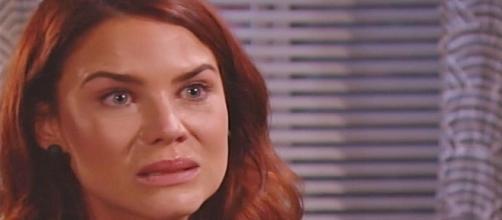 Beautiful, anticipazioni Usa: Sally ammette di aver mentito ma si sente male davvero.