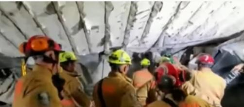 Dozens unaccounted for after condo building collapse near Miami (Image source: CBC News: The National/YouTube)