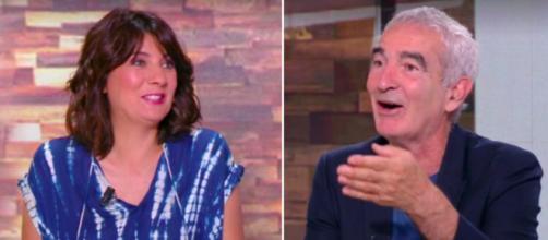 Estelle Denis se moque de Raymond Domenech - Photo capture d'écran vidéo