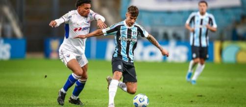 Grêmio e Fortaleza protagonizaram empate sem gols pelo Brasileirão 2021 (Lucas Uebel/Grêmio FBPA)