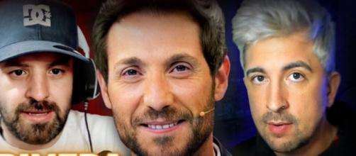 JuanjoVlog y Oliveira entrevistan en directo a Antonio David Flores. (@Juanjo_Menendez)