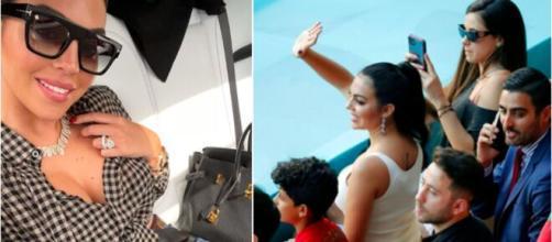 La femme de Cristiano Ronaldo fait le buzz - Photo captures d'écran photo Instagram et Twitter