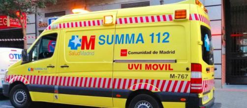 Una unidad del Summa 112 de Madrid prestó colaboración a los intentos por reanimar al niño de 10 años (Twitter, @112cmadrid)