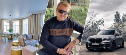 El ciudadano ruso Román Yurkov tiene 35 años y gastó una fortuna en coches de alta gama y pisos