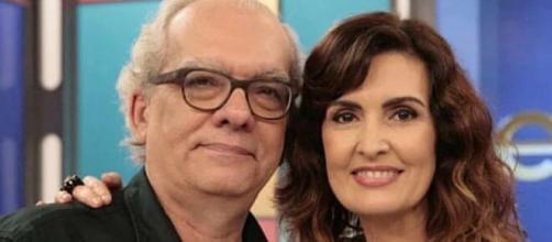 Fátima Bernardes lamenta a morte do jornalista (Divulgação)