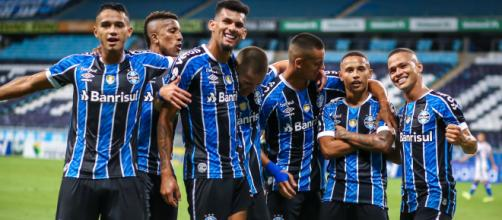 Grêmio aposta em cascudos e ignora a base (Lucas Uebel/Grêmio)