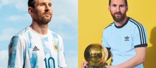 Lionel Messi est devenu le recordman de sélections avec l'Argentine - Source : montage, Instagram @leomessi