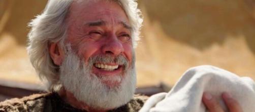 Abraão entrega Isaque em 'Gênesis' (Reprodução/Record TV)