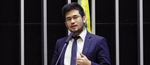 Antes apoiador de Bolsonaro, Kim Kataguiri (DEM-SP) hoje faz oposição ao presidente (Luis Macedo/Câmara dos Deputados)