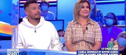 Carla Moreau et Kévin vont quitter les Marseillais (Credit : Capture d'écran TPMP)