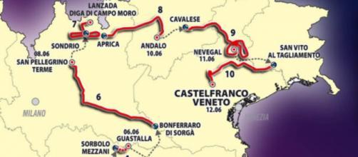 Il percorso del Giro d'Italia under 23.