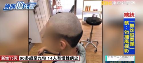 Muchos padres se han interesado por que a sus hijos le hagan el mismo corte (Televisión china)