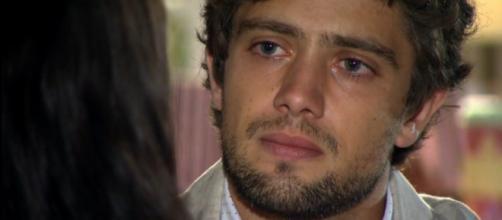 Rodrigo e Manu vivem climão em 'A Vida da Gente' (Reprodução/Rede Globo)