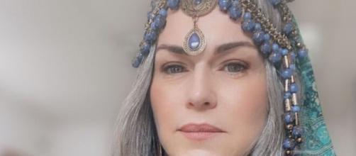 Sara se despede em 'Gênesis' (Reprodução/Record TV)