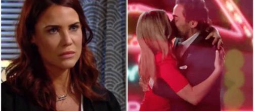 Beautiful, trame al 11-06: Shauna e Ridge si baciano, Sally finge la sua malattia.