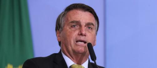 Bolsonaro critica aumento do gás de cozinha (Isac Nóbrega/PR)
