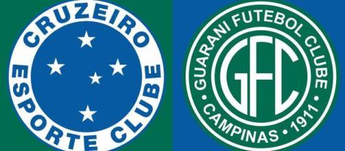Cruzeiro x Guarani terá transmissão ao vivo (Arte/Eduardo Gouvea)