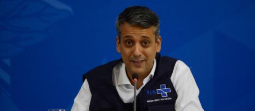 Roberto Ferreira Dias é diretor de Logística do Ministério da Saúde (Marcello Casal Jr/Agência Brasil)