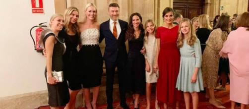 Telma Ortiz y su hermana la Reina Letizia mantienen un relación muy cercana. (Instagram: @casarealdeespaña)