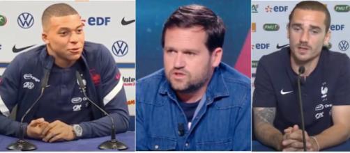 Tensions au sein de l'equipe de France - photo captures d'ecran videos YouTube