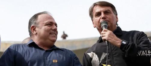 Exército não vai punir Pazuello por participação em ato político com Bolsonaro (Alan Santos/PR)