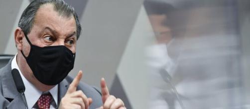 Senador Omar Aziz é crítico da postura do presidente Bolsonaro (Leopoldo Silva/Agência Senado)