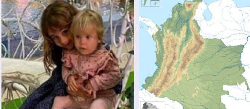 Una llamada asegura que Anna y Olivia están en Colombia (RRSS y Wikimedia Commons)