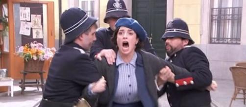 Una vita, anticipazioni: Maite viene arrestata, Camino disperata.