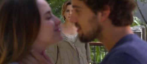 Ana e Rodrigo serão vistos por Eva em 'A Vida da Gente'. (Foto: Globo).