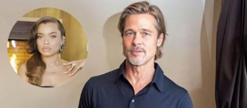 Andra Day parece ser la nueva ilusión de Brad Pitt (Instagram Collage)