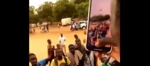 Edouard Mendy est reparti du Sénégal comme un héros (Credit : Instagram d'Edouard Mendy)