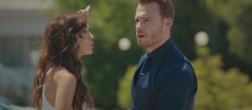 Love is in the air, anticipazioni: Serkan accusa Eda di essere una ladra e la caccia di casa.